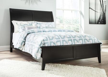 Signature Design by Ashley Braflin B591 Sized Panel Bed in Black
