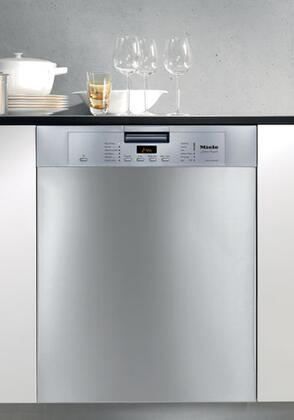 Miele G5105SCSS  Built-In Full Console Dishwasher with in Clean Touch SteelT