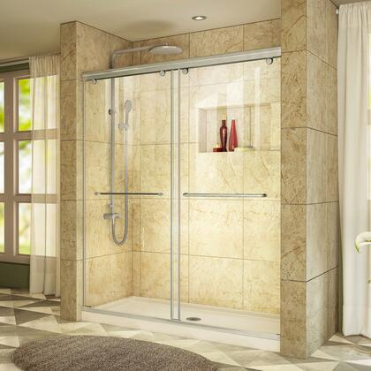 DreamLine Charisma Shower Door RS39 60 04 22B Center Drain E