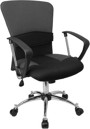 "Flash Furniture LFW23GREYGG 23.75"" Contemporary Office Chair"