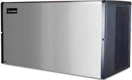 Ice-O-Matic ICE1406 ICE Series Modular  Cube Ice Machine with  Condensing Unit Harvest Assist, Superior Construction, Filter-Free Air & Cuber Evaporator in Durable Stainless Finish