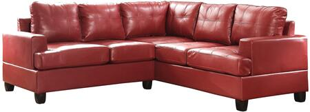 Glory Furniture G589BSC G580 Series Stationary Bycast Leather Sofa