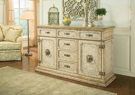 Ambella 06677630001  Wood 6 Drawers Cabinet