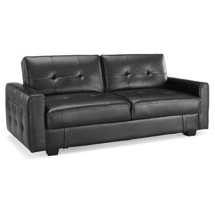 Lifestyle Solutions GAJULS310GK Signature Series Convertible Leather Sofa