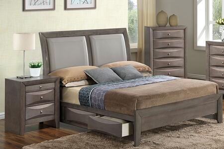 Glory Furniture G1505DDKSB2CHN G1505 King Bedroom Sets