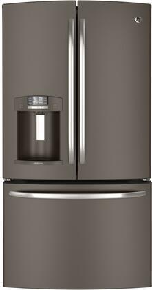 GE DFE29JMDES  French Door Refrigerator with 28.6 cu. ft. Capacity in Slate