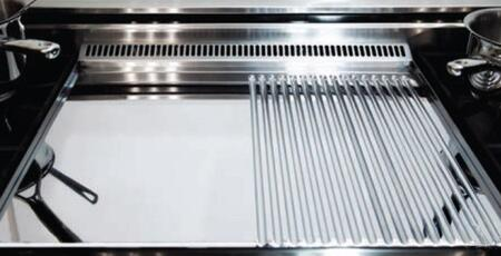 chrome~grooved~griddle 39934