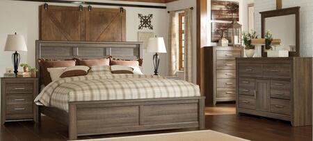 Milo Italia BR371QPBDMN Reeves Queen Bedroom Sets