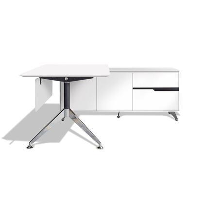 Unique Furniture 481WH Modern Standard Office Desk