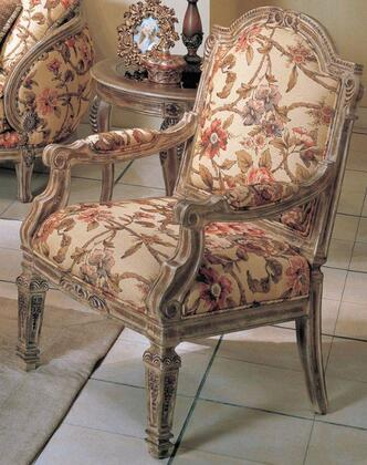 Yuan Tai OR1333A Orchard Series Fabric Chair with Wood Frame