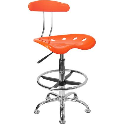 "Flash Furniture LF215ORANGEYELLOWGG 17.25"" Adjustable Contemporary Office Chair"