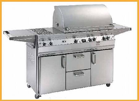FireMagic E790S2E1P71W Freestanding Grill, in Stainless Steel