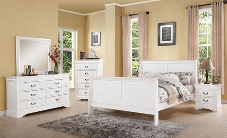 Acme Furniture 24494CK5PC Louis Philippe III California King