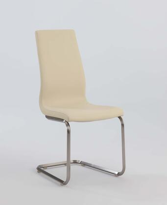 Chintaly ZOEYSC ZOEY DINING Cantilever High Back Side Chair