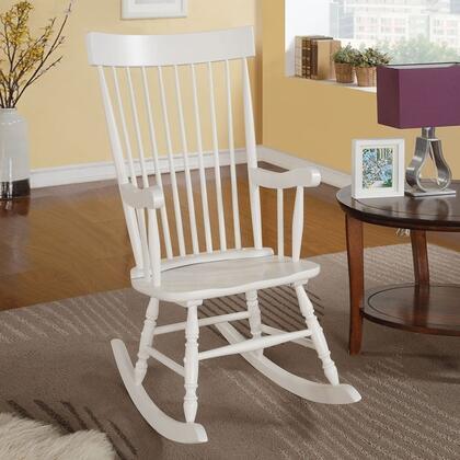 Acme Furniture 59298 Arlo Series  Wood Frame Rocking Chair