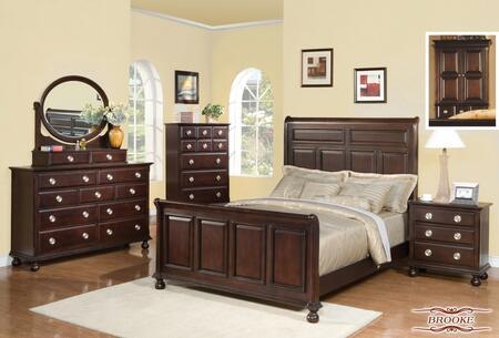 Meridian BROOKEQSET Brooke Queen Bedroom Sets
