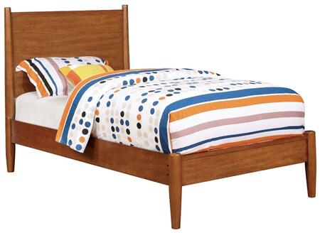 Furniture of America CM7386ATBED Lennart Series  Twin Size Panel Bed