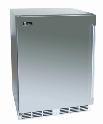 Perlick HP24RS2RDNU Signature Series Compact Refrigerator with 5.3 cu. ft. Capacity