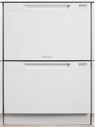 Fisher Paykel DD24DCW6 DishDrawer Series Drawers Semi-Integrated Dishwasher