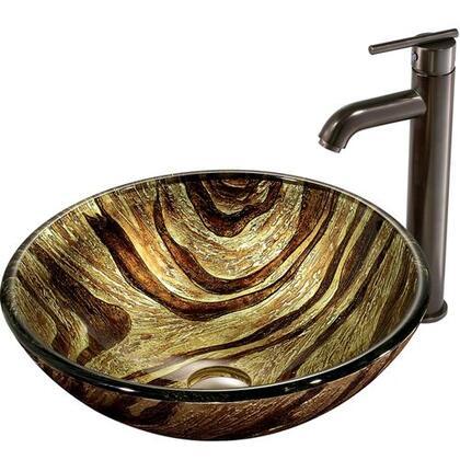 Vigo VGT167 Oil Rubbed Bronze Bath Sink