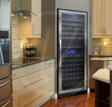 Vinotemp VTDS26SB149 23.5 Inch Built-In and Freestanding Wine ...