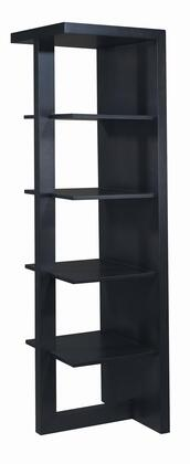 Allan Copley Designs 320610 Samantha Series Wood 4 Shelves Bookcase