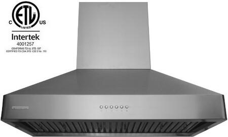 Xtremeair Deluxe Range Hood Front