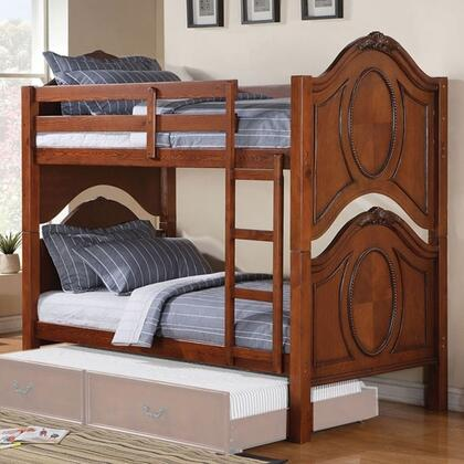 Acme Furniture 37005 Classique Series  Twin Size Bunk Bed