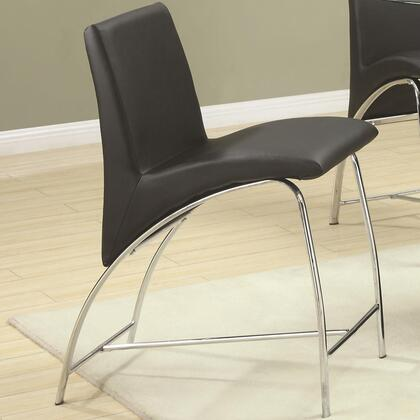 Coaster 120809 Ophelia Series Contemporary Vinyl Metal Frame Dining Room Chair