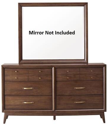 Pulaski 403100 Modern Harmony Series Wood Dresser