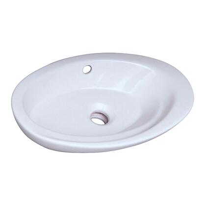 Barclay 4323WH White Sink
