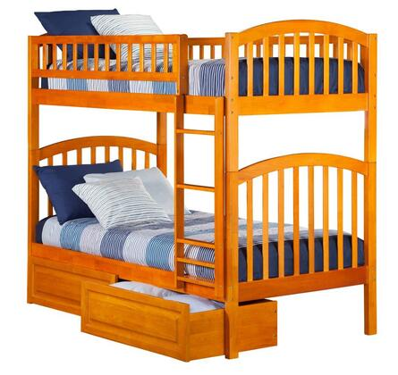 Atlantic Furniture AB64127  Twin Size Bunk Bed