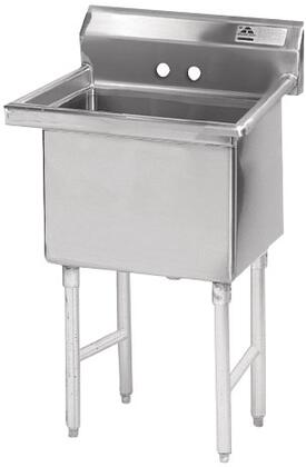 1 Compartment Sink   No Drainboard