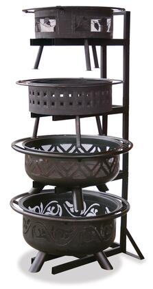 Outdoor Firebowl Display Stand.