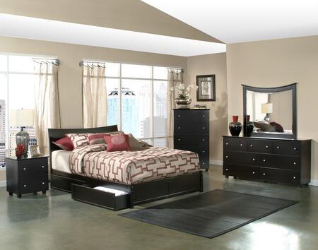 Atlantic Furniture SOHFPESTW  Twin Size Bed