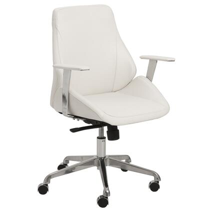 """Euro Style 00475GRY 26.75"""" Modern Office Chair"""