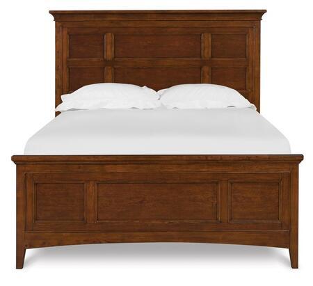 Magnussen Y187364K2 Riley Series Childrens Full Size Panel Bed, Storage Rail & Regular Rail Bed