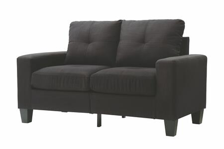 Glory Furniture G475AL Newbury Series Fabric Stationary Loveseat