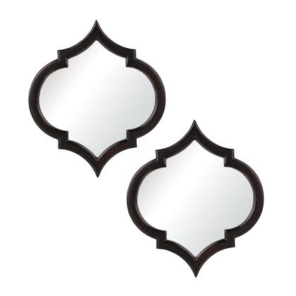 Sterling 6050679 Horizonte Series Oval Both Wall Mirror