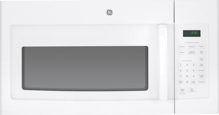 GE JVM3160DFWW 1.6 cu. ft. Over the Range Microwave Oven with 1000 Cooking Watts, 10 Power Levels in White