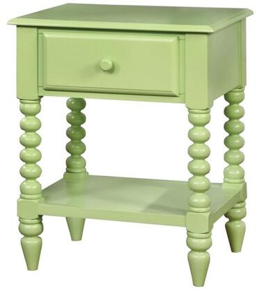 Furniture of America CMAC323AG Lacey Series  Night Stand
