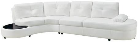 Coaster 503431 Talia Series Stationary Bonded Leather Sofa