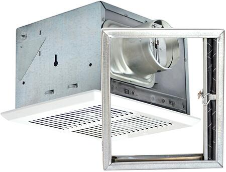 Air King FRASx Fire Rated Fan with x CFM, and 24 Gauge Galvanized Steel Housing, in White