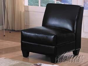 Acme Furniture 08237 Montego Series Accent Chair Leather Wood Frame Accent Chair