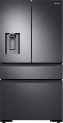 """Samsung RF23M8070Sx 36"""" Counter-Depth French Door Refrigerator with 22.7 cu. ft. Capacity, FlexZone, Exernal Ice and Water Dispenser, and Auto Water Fill, in"""