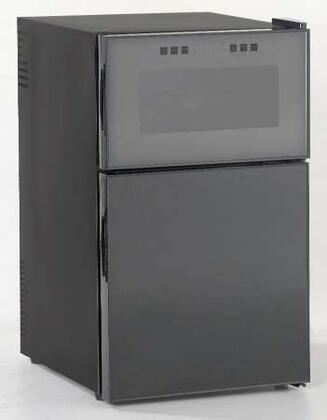 "Avanti SWBC250D 20.5"" Free Standing Wine Cooler, in Black"