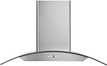 Cavaliere AP238PSD AirPRO 238 Professional Series Wall-Mount Hood With 860 CFM, Touch Sensitive LED Control Panel, Delayed Power Auto Shut Off and Stainless Steel Baffle Filter, in Stainless Steel