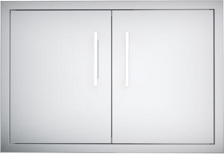 Sunstone B-DD Signature Series Raised Double Access Doors for Stone Island in Stainless Steel