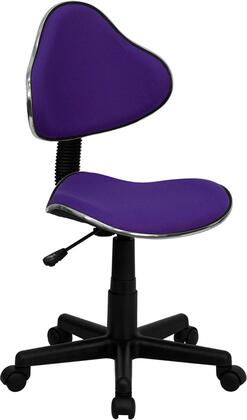 "Flash Furniture BT699PURPLEGG 19.5"" Contemporary Office Chair"