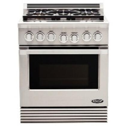 DCS RGUC305N  Freestanding Range with Sealed Burner Cooktop, 4.6 cu. ft. Primary Oven Capacity,